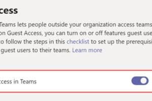 วิธีตั้งค่าให้ Guest เข้าร่วมกลุ่ม Microsoft Teams