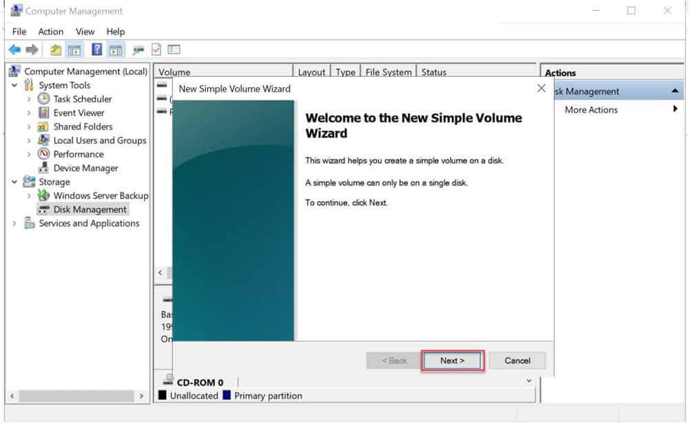 วิธีการสร้างไดร์ (Partition) ที่เป็น Offline ให้เป็น Online พร้อมใช้งาน สำหรับ Windows