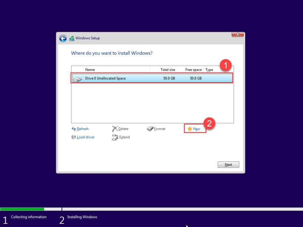 วิธีติดตั้ง Microsoft Windows 10 Pro (19.09)