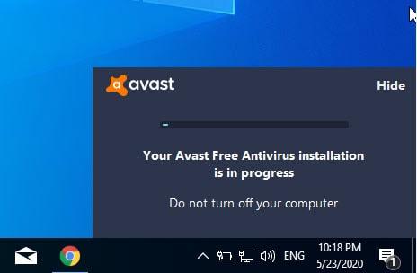 วิธีติดตั้งโปรแกรม Avast Free Antivirus