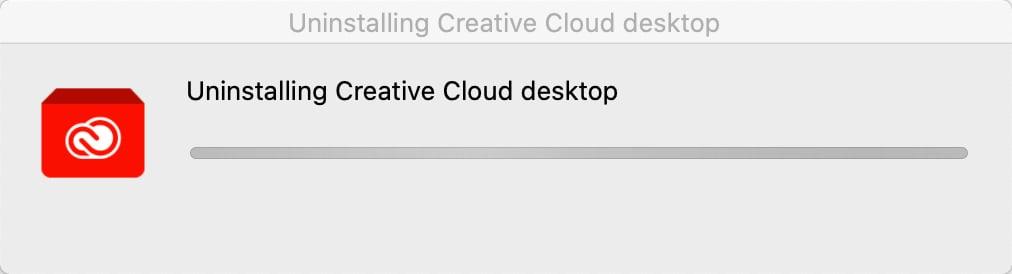 วิธีลบโปรแกรม Adobe Creative Cloud ออกจาก macOS