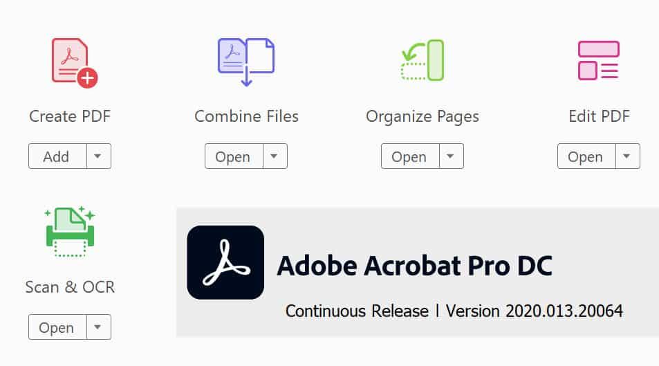 ดาวน์โหลดโปรแกรม Adobe Acrobat Pro DC (ติดตั้งแบบออฟไลน์)