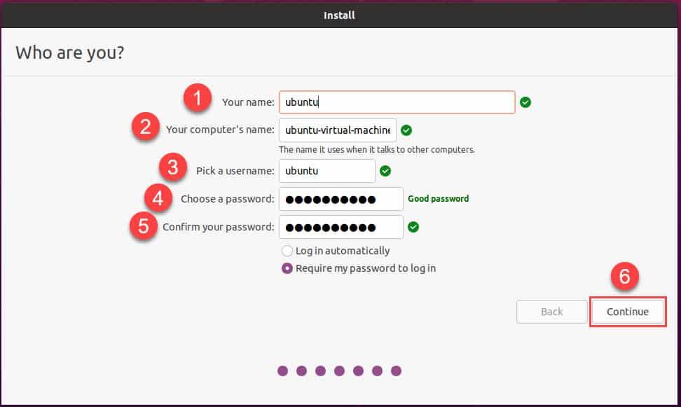 วิธีติดตั้ง Ubuntu Desktop 20.04 LTS