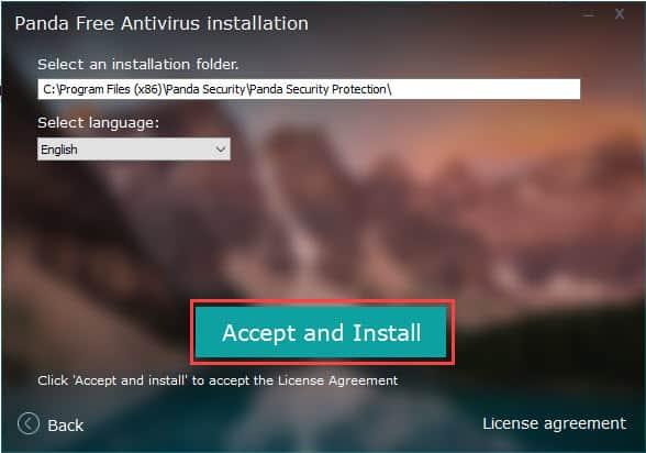 วิธีติดตั้ง Panda Free Antivirus 2021 (Panda Dome)