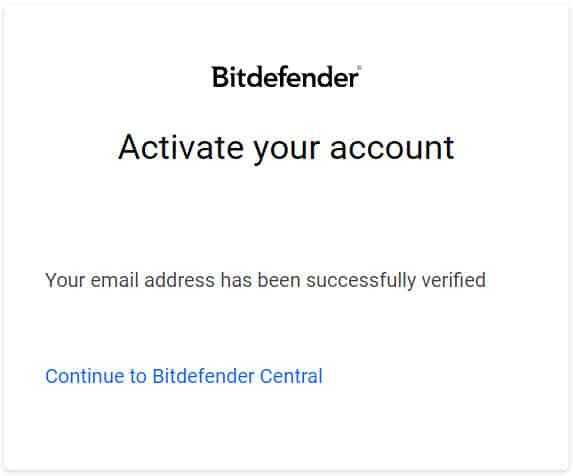 วิธีติดตั้ง Bitdefender Antivirus Free Edition