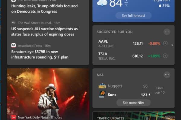 วิธีซ่อน News and Interests บน Taskbar ของ Windows 10
