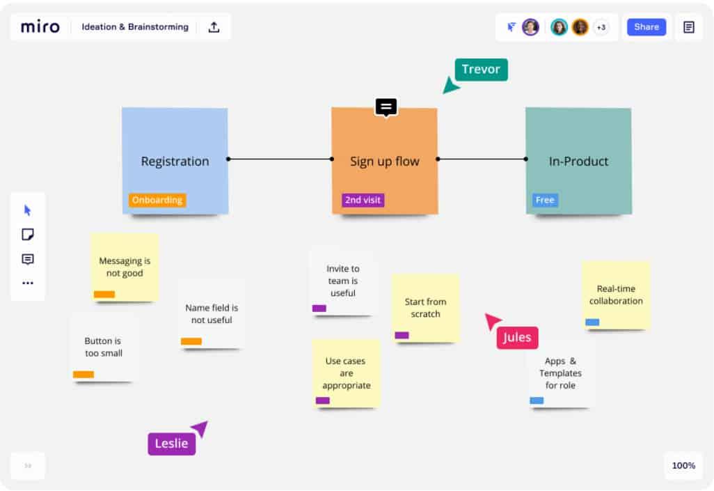ดาวน์โหลดโปรแกรม Miro: An Online Whiteboard & Visual Collaboration Platform