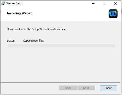 วิธีติดตั้งโปรแกรม Webex by Cisco บน Windows