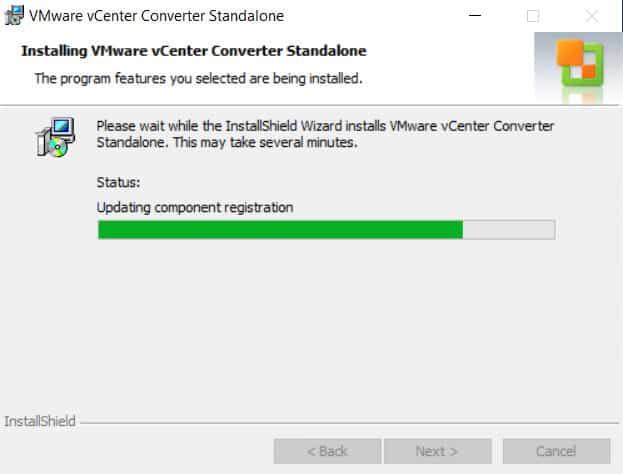 วิธีติดตั้ง VMware vCenter Converter Standalone 5.0
